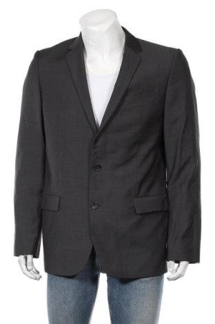 Мъжко сако Hugo Boss, Размер M, Цвят Сив, 100% вълна, Цена 82,32лв.