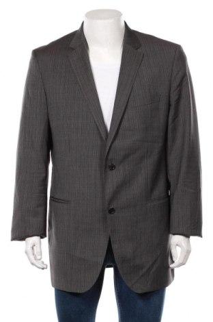 Мъжко сако Hugo Boss, Размер XL, Цвят Сив, Вълна, Цена 44,84лв.