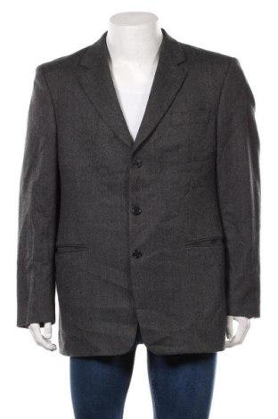 Мъжко сако Larusso, Размер XL, Цвят Сив, Вълна, Цена 30,92лв.
