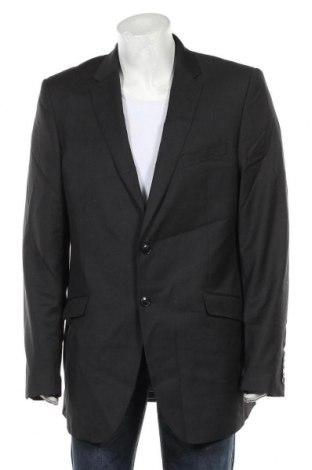 Мъжко сако Marks & Spencer Autograph, Размер XL, Цвят Сив, Вълна, Цена 44,80лв.