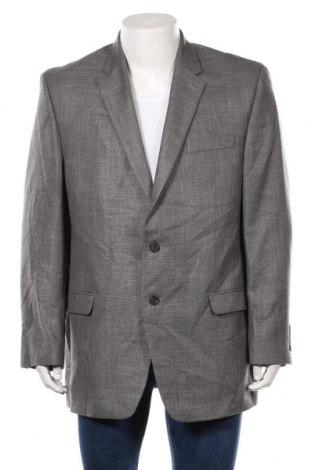 Мъжко сако Ralph Lauren, Размер XXL, Цвят Сив, 72% полиестер, 25% вискоза, 3% лен, Цена 20,79лв.
