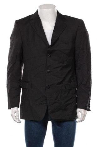Мъжко сако Strellson, Размер L, Цвят Сив, Вълна, Цена 41,06лв.