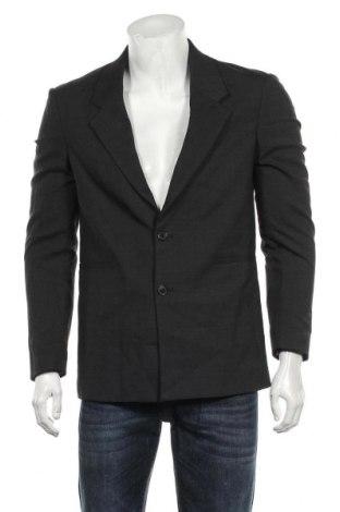 Мъжко сако Zara, Размер M, Цвят Сив, 95% полиестер, 5% еластан, Цена 47,52лв.