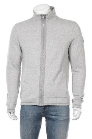 Мъжко спортно горнище Tom Tailor, Размер M, Цвят Сив, 90% памук, 10% вискоза, Цена 52,56лв.