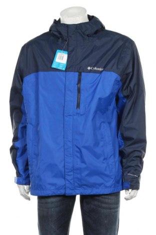 Мъжко спортно яке Columbia, Размер XL, Цвят Син, 100% полиамид, Цена 153,17лв.