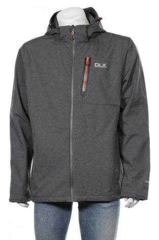 Мъжко спортно яке DLX by Trespass, Размер XL, Цвят Сив, Полиестер, Цена 99,40лв.