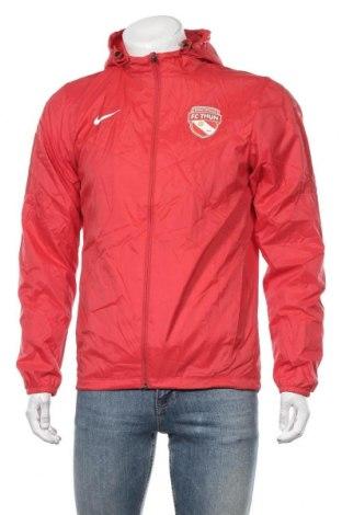 Pánská sportovní bunda  Nike, Velikost S, Barva Červená, Polyamide, Cena  804,00Kč