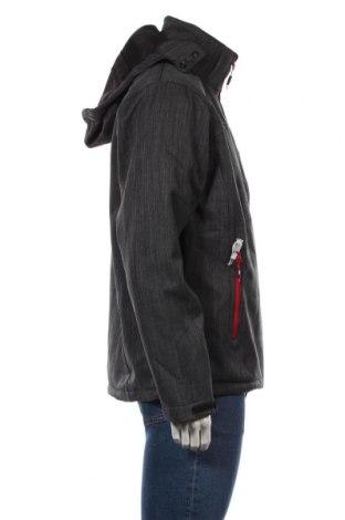 Мъжко спортно яке Trespass, Размер M, Цвят Сив, Полиестер, Цена 93,96лв.