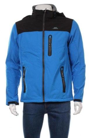 Мъжко спортно яке Trespass, Размер M, Цвят Син, 94% полиестер, 6% еластан, Цена 99,40лв.