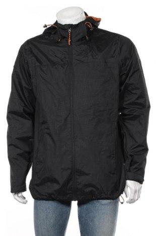 Мъжко спортно яке Trespass, Размер L, Цвят Черен, Полиестер, Цена 68,16лв.
