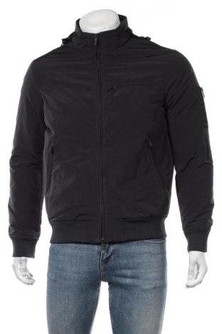 Мъжко яке Armani Jeans, Размер M, Цвят Син, 85% полиестер, 15% полиамид, Цена 365,17лв.