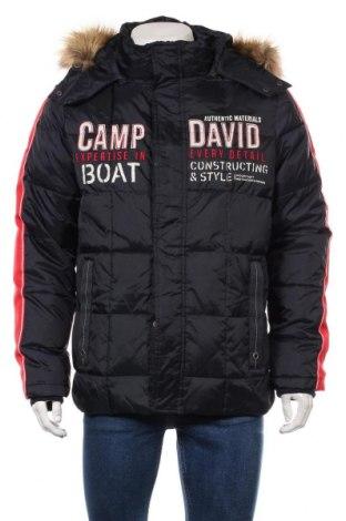 Мъжко яке Camp David, Размер M, Цвят Син, Полиамид, Цена 174,37лв.