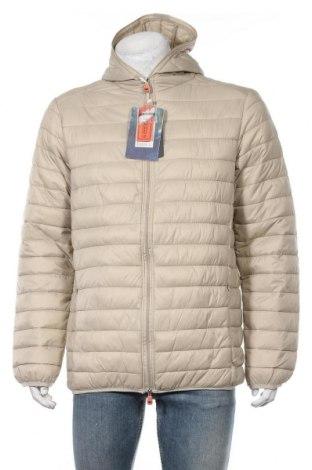 Мъжко яке Geographical Norway, Размер XL, Цвят Бежов, 100% полиамид, Цена 129,12лв.