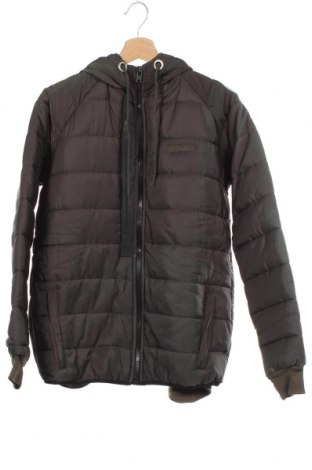 Мъжко яке Geographical Norway, Размер M, Цвят Зелен, 65% памук, 35% полиестер, Цена 158,95лв.