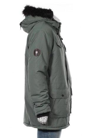 Мъжко яке Geographical Norway, Размер XXL, Цвят Зелен, Полиамид, Цена 213,85лв.