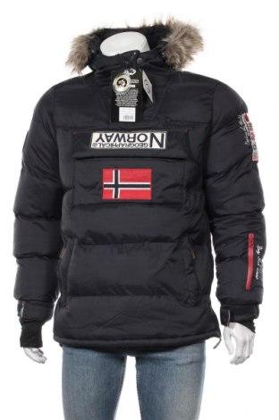 Мъжко яке Geographical Norway, Размер M, Цвят Син, Полиамид, Цена 246,75лв.