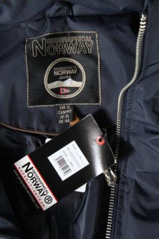 Мъжко яке Geographical Norway, Размер XL, Цвят Син, Полиестер, Цена 261,75лв.