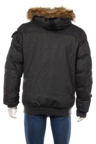 Мъжко яке Geographical Norway, Размер M, Цвят Сив, Полиестер, Цена 174,37лв.