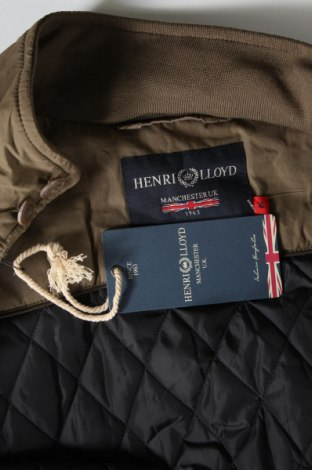 Мъжко яке Henri Lloyd, Размер XL, Цвят Зелен, 55% полиамид, 45% памук, Цена 246,75лв.