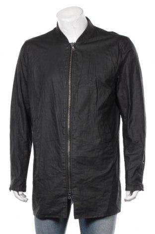 Мъжко яке John Varvatos, Размер L, Цвят Черен, 53% памук, 47% лен, Цена 211,47лв.