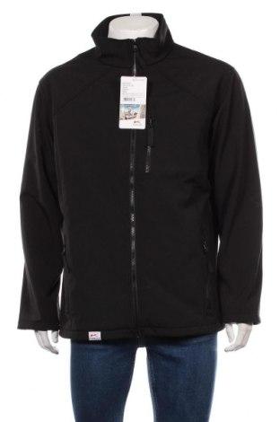 Мъжко яке Kubler, Размер L, Цвят Черен, 96% полиестер, 4% еластан, Цена 59,25лв.