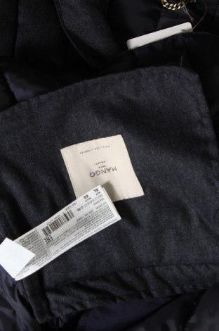 Мъжко яке Mango, Размер XL, Цвят Син, Полиестер, Цена 74,70лв.