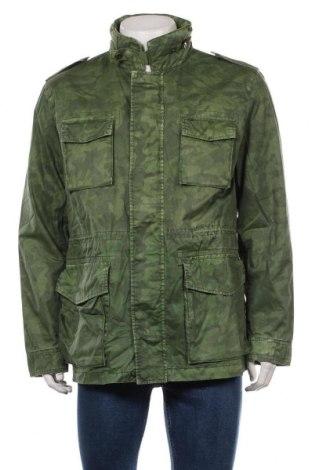 Мъжко яке Pepe Jeans, Размер L, Цвят Зелен, Памук, Цена 114,72лв.