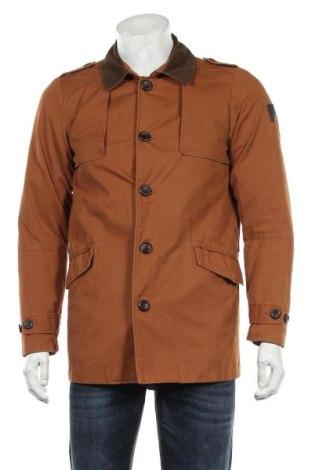 Мъжко яке Pull&Bear, Размер M, Цвят Кафяв, Памук, Цена 36,00лв.