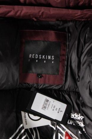Мъжко яке Redskins, Размер L, Цвят Червен, Полиестер, еко кожа, Цена 141,47лв.