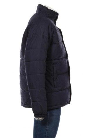 Мъжко яке Schott, Размер L, Цвят Син, 65% памук, 35% полиамид, Цена 145,77лв.