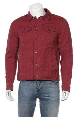 Мъжко яке Tom Tailor, Размер S, Цвят Червен, 98% памук, 2% еластан, Цена 59,25лв.