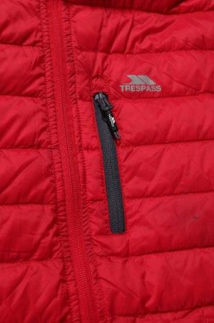 Мъжко яке Trespass, Размер XS, Цвят Червен, Полиамид, пух и пера, Цена 131,30лв.