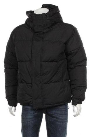 Мъжко яке Zara, Размер M, Цвят Черен, Полиестер, Цена 81,00лв.