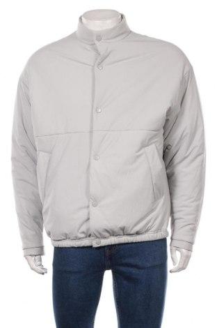 Мъжко яке Zara, Размер M, Цвят Сив, Полиестер, Цена 52,47лв.
