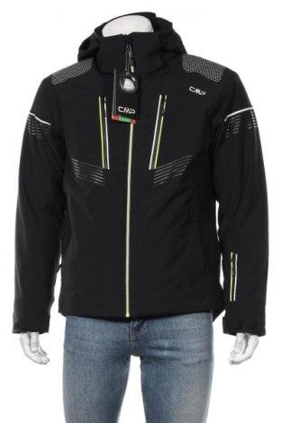 Мъжко яке за зимни спортове CMP, Размер M, Цвят Черен, 90% полиестер, 10% еластан, Цена 141,75лв.