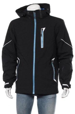 Мъжко яке за зимни спортове Crane, Размер L, Цвят Черен, Полиестер, Цена 72,45лв.