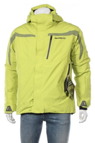 Мъжко яке за зимни спортове Sun Valley, Размер L, Цвят Зелен, Полиестер, Цена 194,25лв.