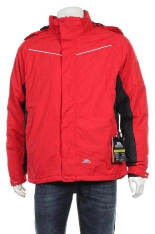 Мъжко яке за зимни спортове Trespass, Размер M, Цвят Червен, 100% полиамид, Цена 141,75лв.