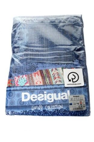 Παπλωματοθήκη Desigual, Χρώμα Μπλέ, Βαμβάκι, Τιμή 42,94€