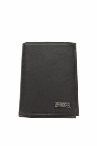 Портмоне Azzaro, Цвят Черен, Естествена кожа, Цена 96,75лв.