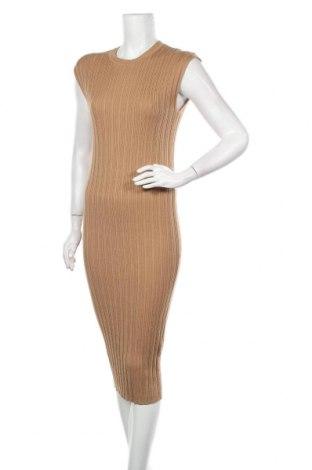 Φόρεμα Amisu, Μέγεθος M, Χρώμα  Μπέζ, 78% βισκόζη, 22% πολυεστέρας, Τιμή 18,19€