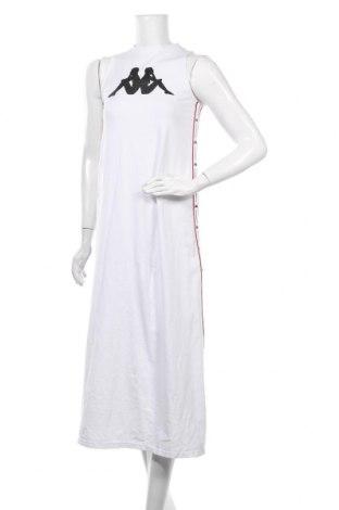 Рокля Kappa, Размер S, Цвят Бял, 92% памук, 8% еластан, Цена 105,30лв.