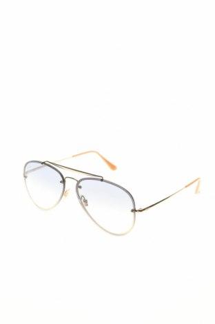Слънчеви очила Ray Ban, Цвят Златист, Цена 219,45лв.