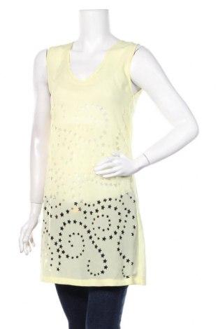 Туника Zara, Размер M, Цвят Жълт, Цена 25,50лв.
