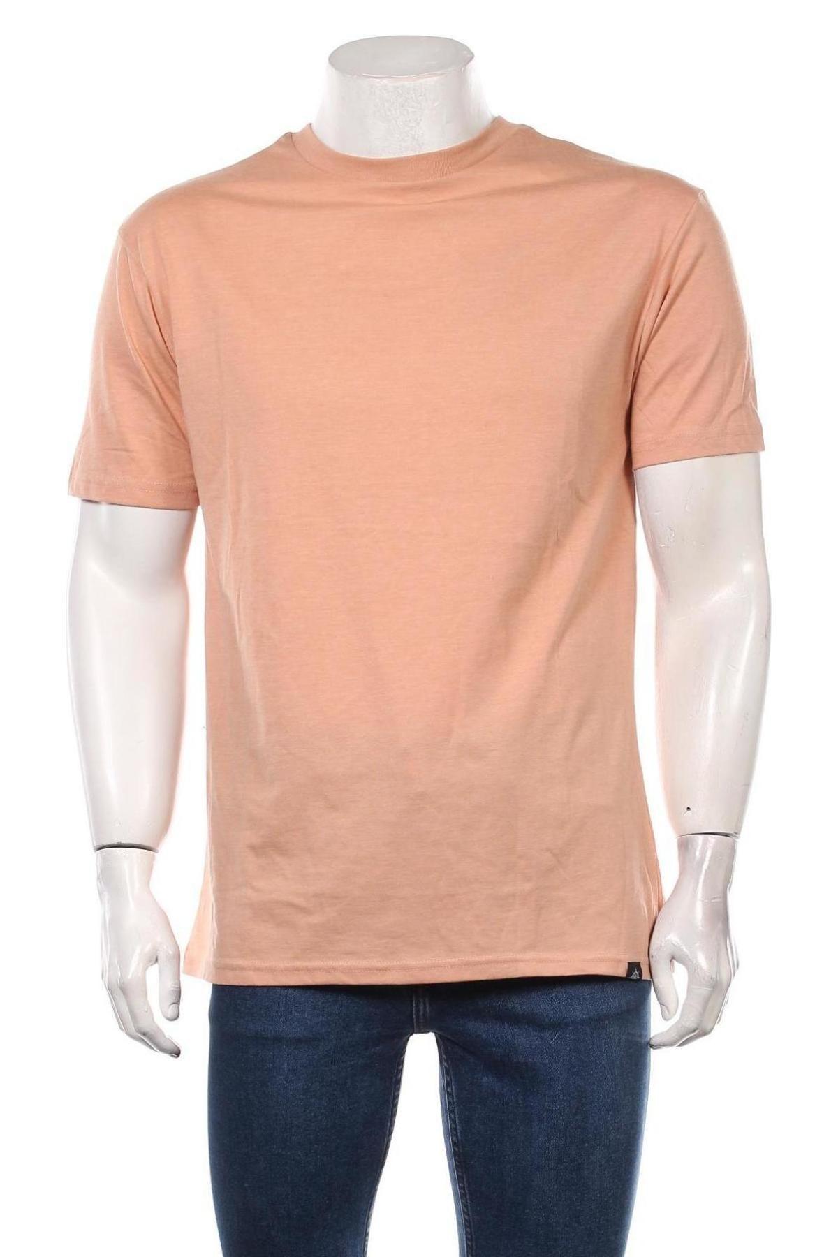 Мъжка тениска Newport Bay Sailing Club, Размер L, Цвят Бежов, 50% памук, 50% полиестер, Цена 12,60лв.