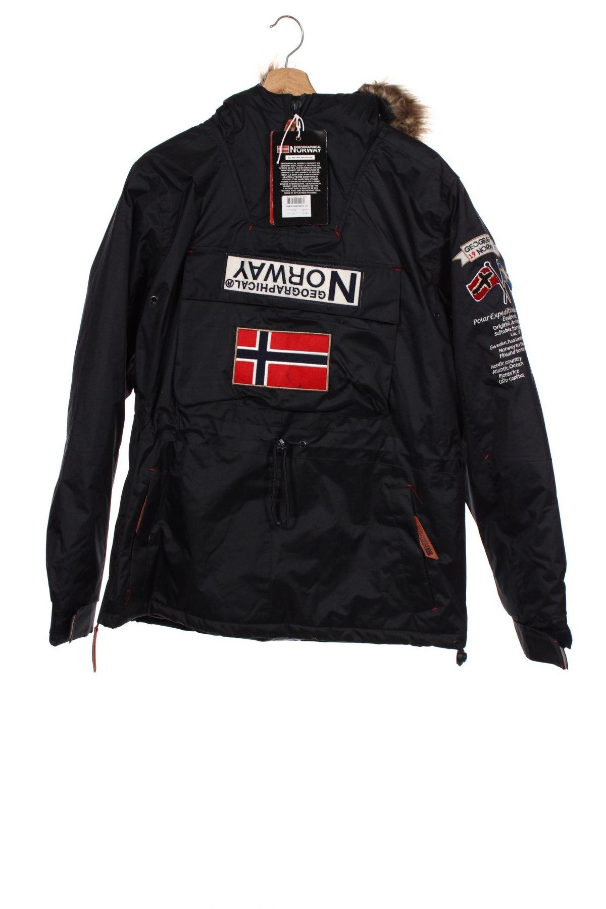 Мъжко яке Geographical Norway, Размер S, Цвят Син, Полиестер, Цена 130,05лв.