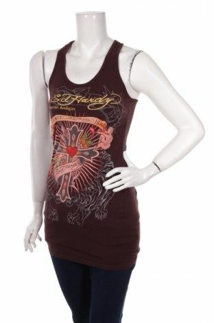 Damska koszulka na ramiączkach Ed Hardy By Christian Audigier