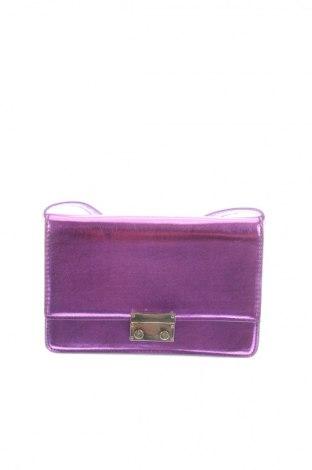 Γυναικεία τσάντα Pimkie, Χρώμα Βιολετί, Δερματίνη, Τιμή 9,38€