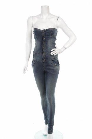 Salopetă jeans de femei Stradivarius