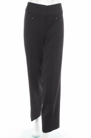 Дамски панталон, Размер M, Цвят Черен, 47% полиестер, 45% вискоза, 5% други нишки, 3% еластан, Цена 9,66лв.